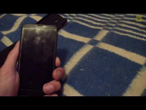 Телефон Nokia Lumia 630 после двух недель в воде...