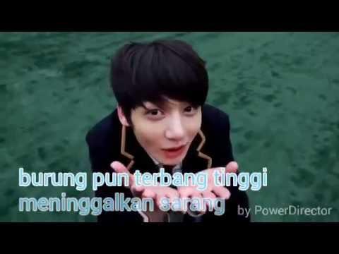 daun pandan regae - kacang lupa pada kulitnya ( vidio clip lyric )