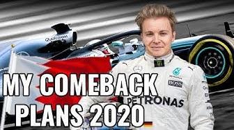ANNOUNCING MY MERCEDES F1 COMEBACK 2020 | NICO ROSBERG | RACEVLOG