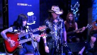 Jon Angelz, Ovy /rif, Axel - Bed of Roses @ Bon Jovi Nite 31 Dec 2011