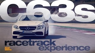 Mercedes-AMG C 63 S on the Race Track with Bernd Schneider (German)