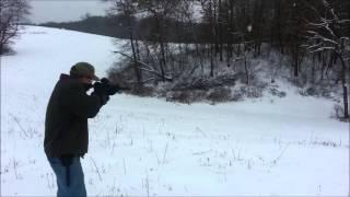 SBR shooting .223 with SAS Arbiter Ti