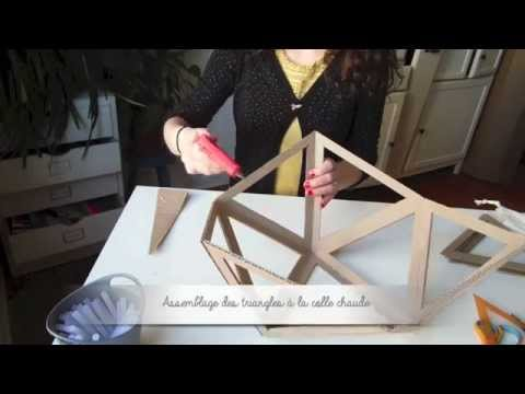 diy comment fabriquer un abat jour en tissu doovi. Black Bedroom Furniture Sets. Home Design Ideas