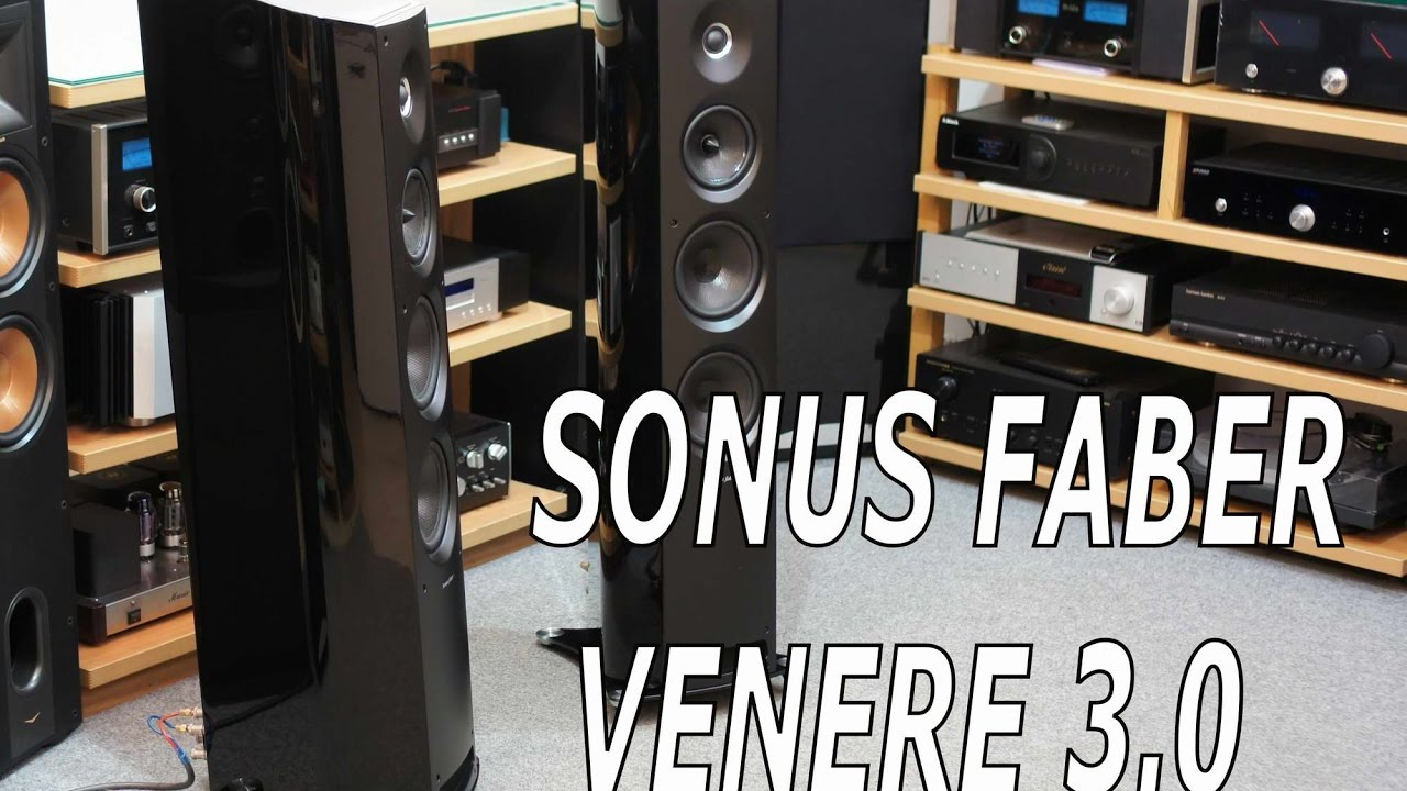 Sonus Faber Venere 3 0 Test - video and sound HD