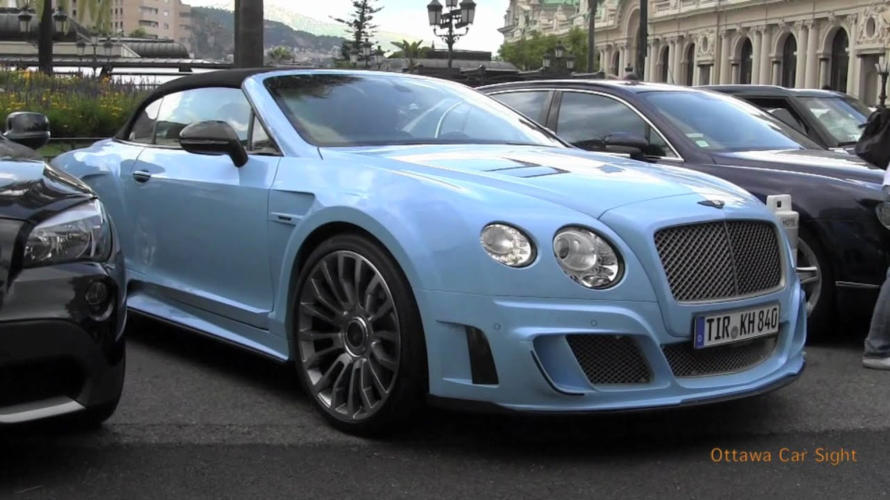Baby Blue Bentley By Mansory Walkaround Startup Amp Drive