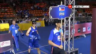MY BOXING HIGHLIGHTS AGAINST TURKMENISTAN