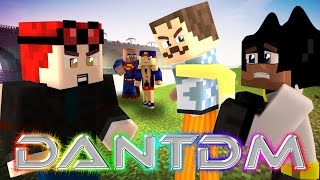 The Quest for Evil DanTDM - Minecraft Hello Neighbor Roleplay