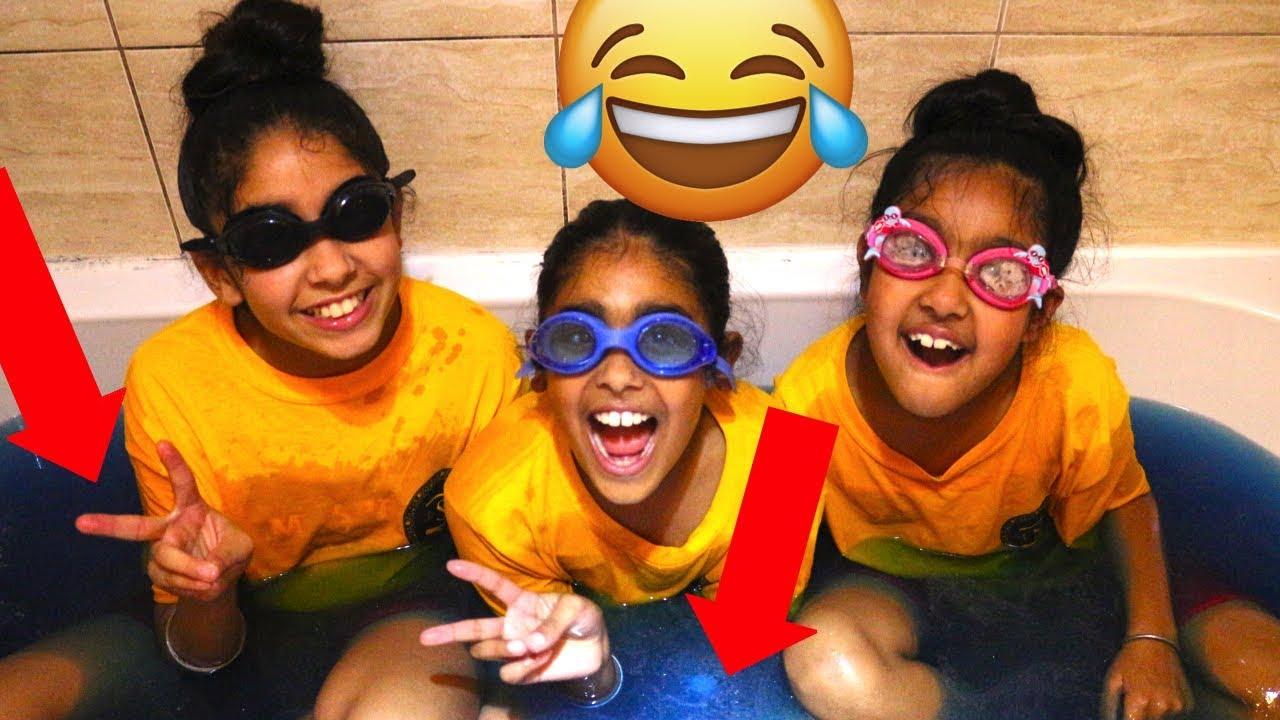 Download CRAZY BATH BOMB CHALLENGE!