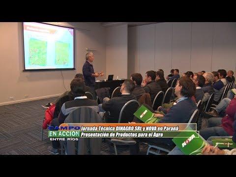 Hector Pfarher - Socio DINAGRO SRL - Jornada Técnica DINAGRO-NOVA en Paraná