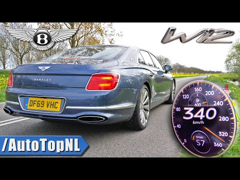 BENTLEY FLYING SPUR W12 *0-340km/h* ACCELERATION & TOP SPEED by AutoTopNL