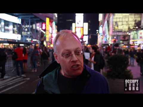 "Chris Hedges: ""This one could take them all down."" Hedges on OWS w/ OccupyTVNY -- 10/15/11"