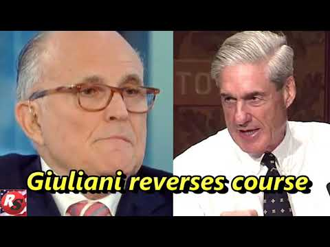 Giuliani reverses course on a major request from Mueller about Trump