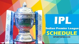 Vivo IPL 2017 Schedule & Time Table (Season 10)