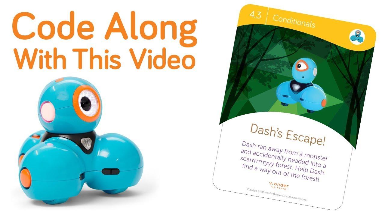 Code: DASH Challenge Card 4.3 | Wonder Workshop