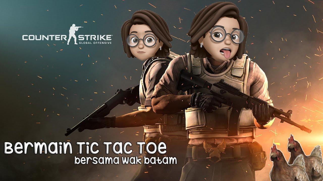 Counter Strike - Bermain Tic Tac Toe 😆