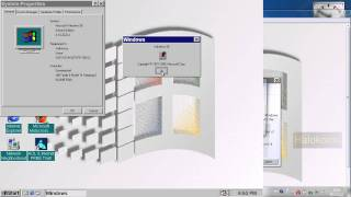 Windows 98 Second Edition from 1999