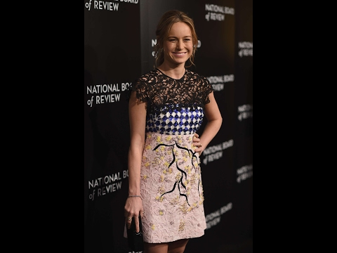 Brie Larson  Hot Dress Video National Board of Review Awards