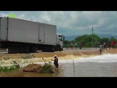 Barragem do Rosário, em Milagres, registra cheia nesta quinta-feira