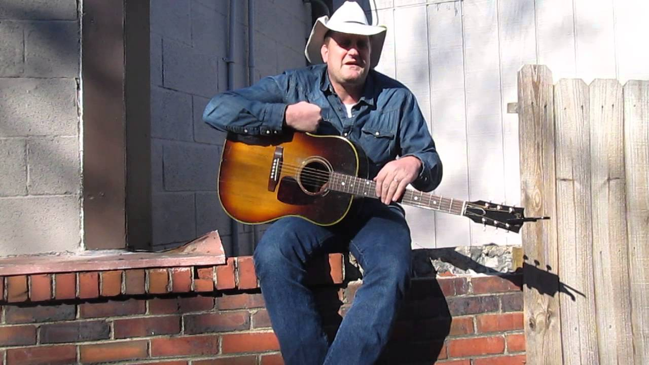 Marty Brown on Music Row in Nashville, TN 2014