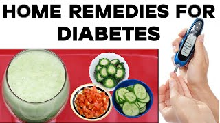 How to Cure Diabetes Permanently At Home || Health Tips | Home Remedies