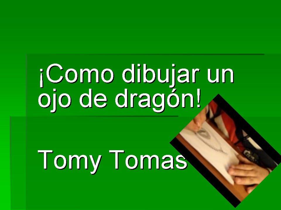 como dibujar un Ojo de Dragon Tomy Tomas HD  YouTube