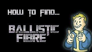 how to get ballistic fiber fallout 4