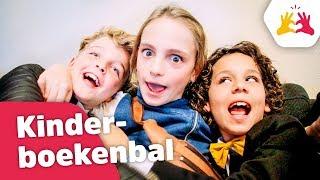 WIE IS ER VERLIEFD OP WIE?! - Kinderboekenbal (Vlog 93) - Kinderen voor Kinderen