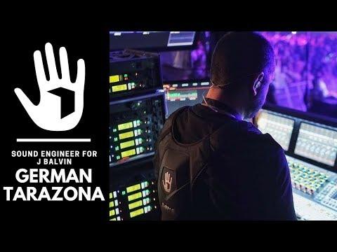 German Tarazona | Sound Engineer for J Balvin | SUBPAC