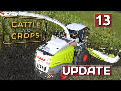 MAIS häckseln mit CLAAS JAGUAR und automatischem HAWE Abfahrer! | Cattle And Crops UPDATE #13