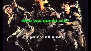 Ghostbusters - Ray Parker Jr. karaoke