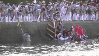 199 伊万里トンテントン 「川落とし合戦」 ハイライト 5分動画