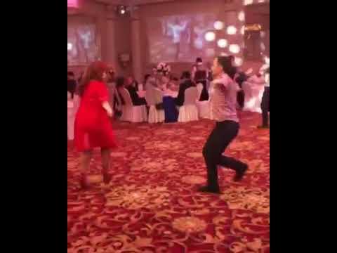 Патимат Кагирова на свадьбе