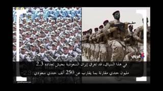 شاهد بالفيديو.. ماذا لو دخلت إيران والسعودية في حرب؟