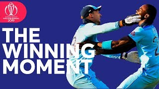 The Moment England Won the World Cup!   Plus Trophy Lift Celebrations!   ICC Cricket World Cup 2019