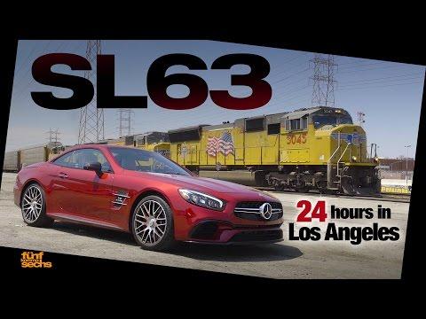 Mercedes-AMG SL 63: 24 hours Non-Stop in LA (German)