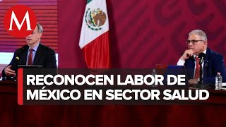 OMS premia a México por tratamiento de enfermedades no transmisibles