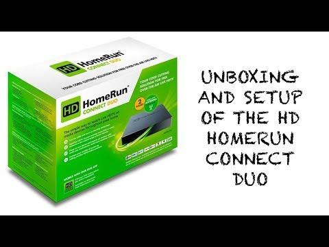 UNBOXING & SETUP] HD HomeRun Connect DUO Setup & Quick Look