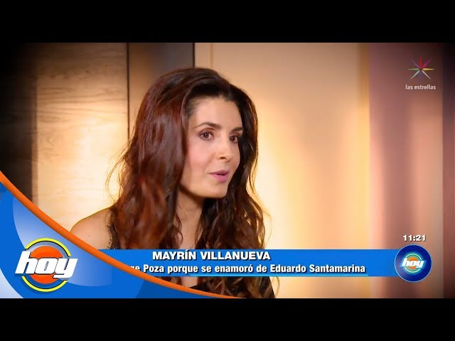 Mayrín Villanueva lamenta haberle sido infiel a Jorge Poza | Ponle la cola al Burro | Hoy