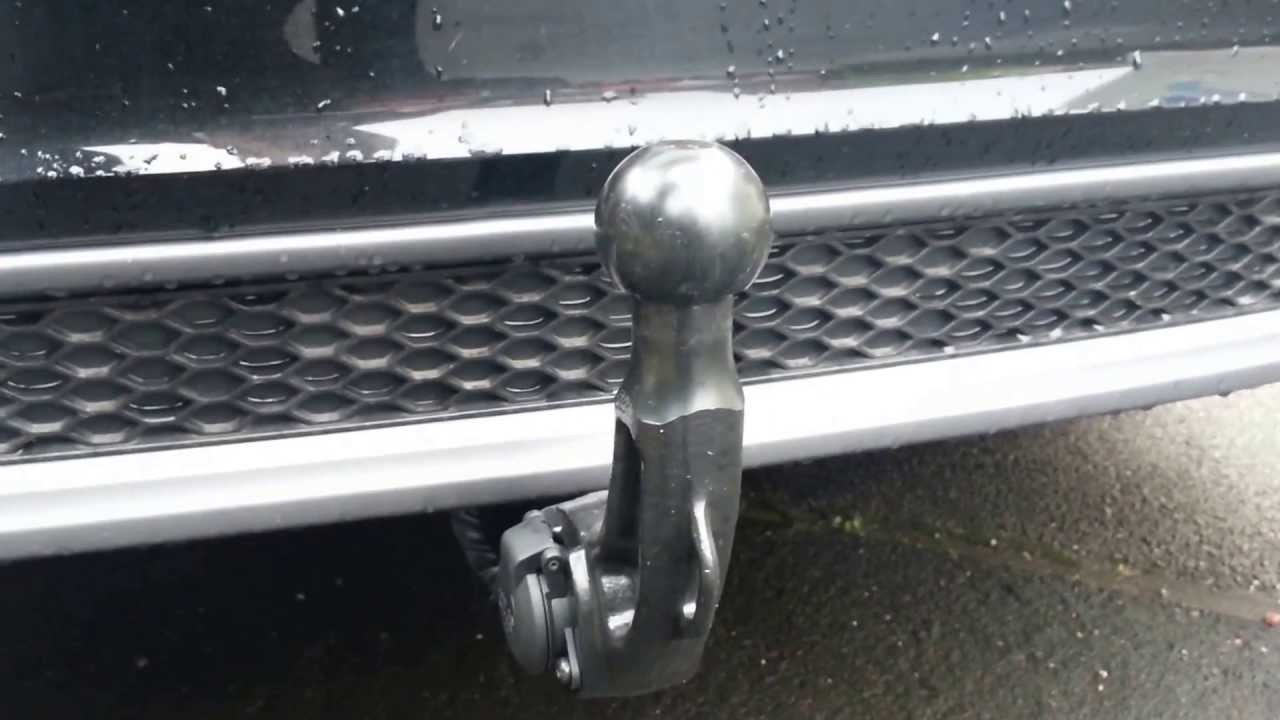 Audi Factory Fit Towbar Youtube
