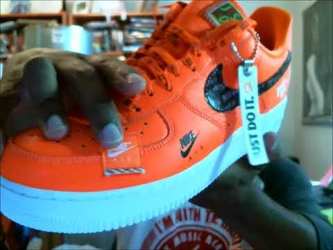 Air Force 1 Low '07 Prm Gs 'Just Do It'