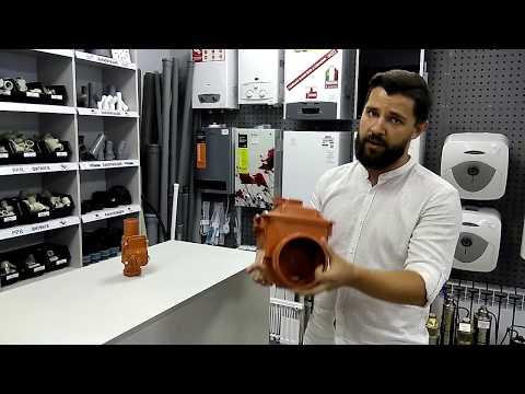 Клапан обратный  канализационный обзор. Магазин сантехники Буль-Буль