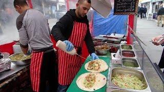 Fast Falafel Wrap maker at