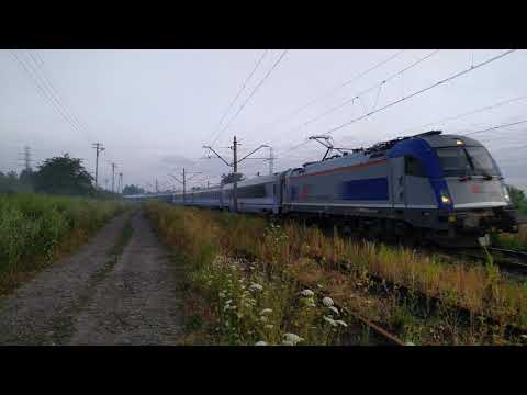 """EU44-003 IC 406 """"Chopin"""" Praha / Wien / Budapest - Warszawa Wschodnia"""