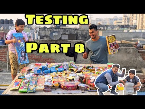 New Cheapest Unique Crackers Stash Testing Part 8 | Crackers Testing | Diwali 2020