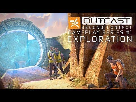 Демонстрация геймплея Outcast - Second Contact