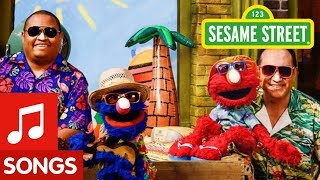 Sesame Street: Let's Go Surfin' Song with Elmo and Grover!