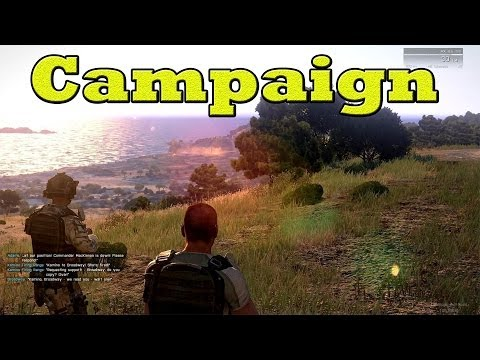 "ArmA 3 Campaign - Mission 1 ""Survive"" Walkthrough - Max Settings 1080p"
