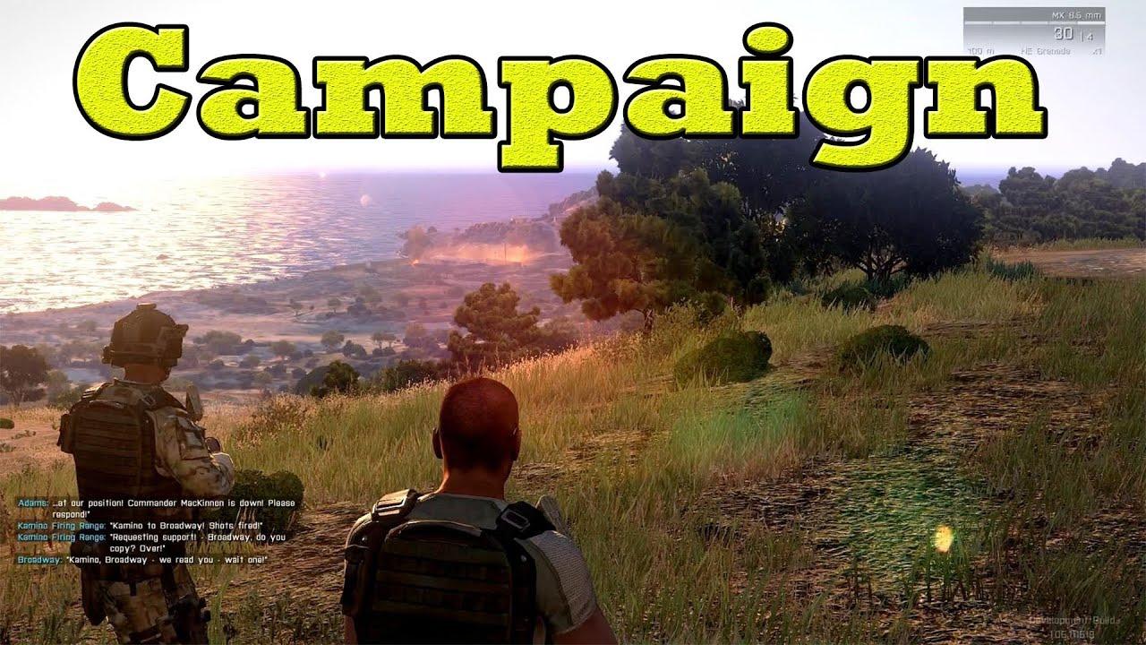 ArmA 3 Campaign - Mission 1