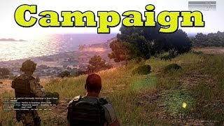 "ArmA 3 Campaign - Mission 1 ""Survive"" Walkthrough - Max Settings (1080p)"