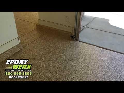 Phoenix Arizona Epoxy Garage Floor Coatings - EPOXY WERX LLC